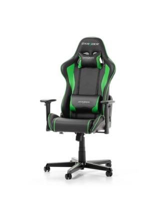 FORMULA F08-NE Krzes?o gamingowe - Czarno-zielony - Skóra PU - 100 kg
