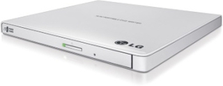 LG Slim External Base DVD-W 9,5mm Retail White