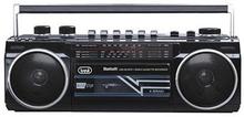 Trevi RR501BT Ghettoblaster USB+SD+BT / Svart