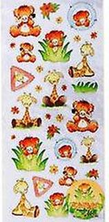 SALU - Jungle Fever dekal för barn hantverk   Vilda djur barn hantverk