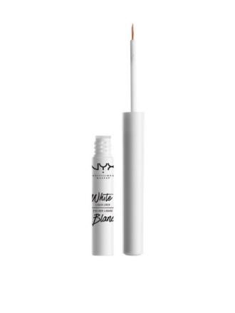 Eyeliner - Hvit NYX Professional Makeup White Liquid Liner