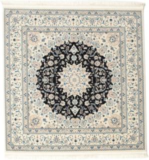 Nain Emilia - Mörkblå matta 250x250 Orientalisk, Kvadratisk Matta