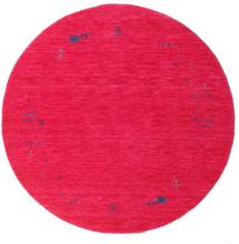 Gabbeh Loom Frame - Cerise matta Ø 150 Orientalisk, Rund Matta