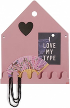 Roommate - Village Magnetic Board Pastel Rose