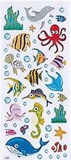 Folierad marina livet dekal för barn hantverk   Under havet hantverk