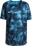 Nike Performance DRY Tshirt med tryck ligt blue fu