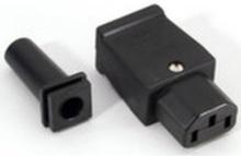 Power Connector IEC Apparat Female (1 stk.)