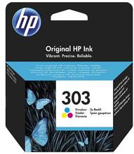 HP HP 303 Bläckpatron 3-färg, 165 sidor T6N01AE Replace: N/AHP HP 303 Bläckpatron 3-färg, 165 sidor