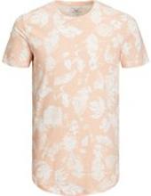 JACK & JONES Blommig T-shirt Man Beige