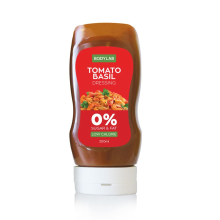 BodyLab Low Carb Tomato & Basil Dressing (300 ml)