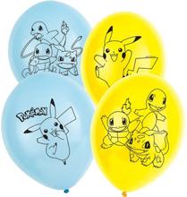 Pokemon Ballonger 6 stk.