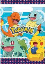 Pokemon Godteposer 8 stk.