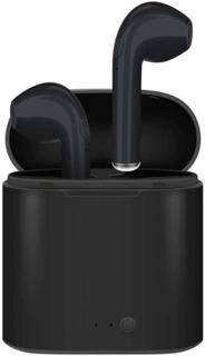 LEDWOOD Hovedtelefon i7S True Wireless In-Ear Sort Mic