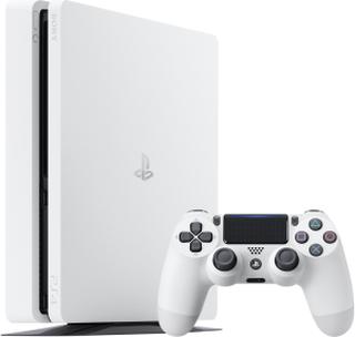 PlayStation 4 Slim 500GB - Glacier White