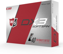 Wilson DX3 Soft Spin Golf Balls 12 Pack