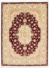 Tabriz 50 Raj med silke matta 147x203 Persisk Matta