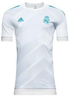 Real Madrid Trenings T-Skjorte Pre-Match - Hvit/Blå Barn