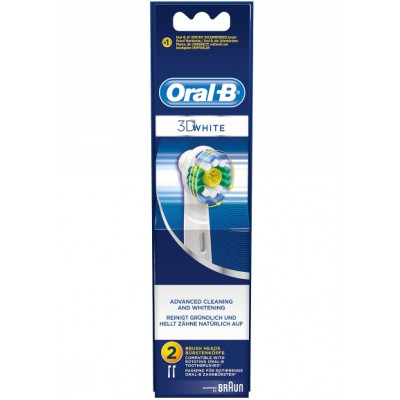 Oral-B 3D White Advanced Cleaning & Whitening 2 stk