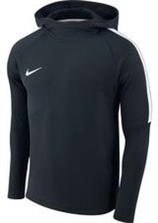 Nike Hættetrøje Dry Academy - Navy/Hvid
