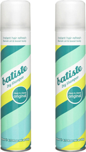 Osta Dry Shampoo Original Duo, 200ml Batiste Hiustenhoito edullisesti