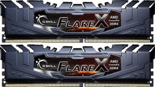 G.Skill Flare X 32GB (2-KIT) DDR4 2400MHz CL15 (For AMD)