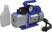 vidaXL Enstegs vakuumpump med tryckmätare 71 L/min.