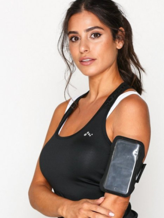 Nike Lean Arm Band Svart/Sølv