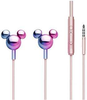 Disney Mickey Mirror 3D In-ear Hovedtelefoner - 3.5mm - Pink