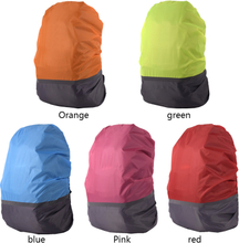 Backpack Rain Cover 18-25L Reflective Waterproof Bag Cover Outdoor Camping Travel Rainproof Dustproof Covers For Backpacks