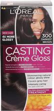 Köp L'Oréal Paris Casting Crème Gloss 300 Mörkbrun, Darkest Brown L'Oréal Paris Färg fraktfritt