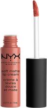 Osta NYX PROFESSIONAL MAKEUP Soft Matte Lip Cream, SMLC19 Cannes 8 ml NYX Professional Makeup Huulipuna edullisesti