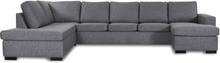 Solna U-soffa XL 364 cm - Vänster
