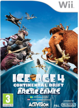 Ice Age 4: Continental Drift - Arctic Games - Nintendo Wii - Action