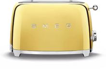 Smeg - Smeg Toaster 2 Slices, Gold