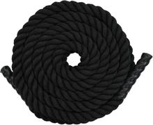 vidaXL Klätterrep 15 m polyester svart
