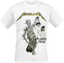 Metallica - Justice -T-skjorte - hvit