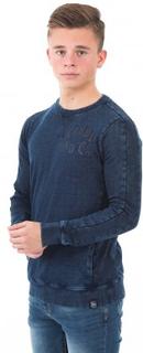Petrol Industries, Sweater Round Neck, Blå, Tröjor/Cardigans till Kille, 164 cm