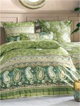 Bettbezug 135x200cm, Kissenbezug 80x80cm Bassetti grün