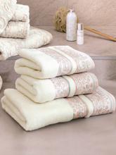 Handtuch ca. 50x100cm Devilla beige