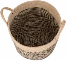 Large Basket Woven Storage Basket with Handles Natural Jute Laundry Basket Toy Towels Blanket Basket Home Decor Gift