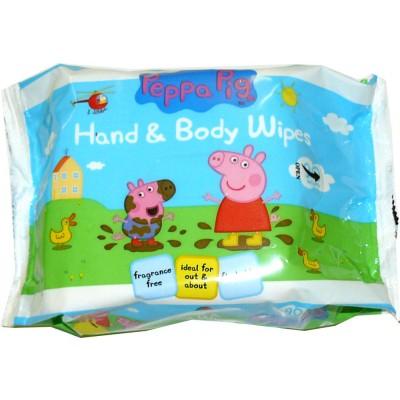 Peppa Pig Feuchttücher Hände & Körper 90 stk
