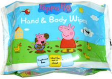 Peppa Pig Hand & Body Wipes 90 kpl