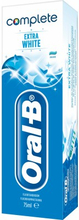 Oral-B Complete Extra White Mint Hammastahna 75 ml