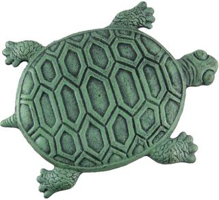 Zeckos Cast Iron Turtle hage Stepping stein trinn fliser Grønn One ...