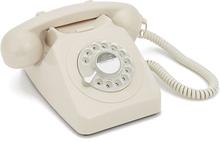 GPO 746 Modern Telefon med Snurrskiva - Elfenben