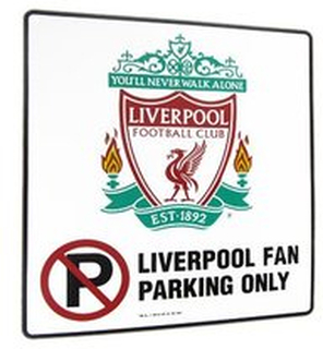 Liverpool 'No Parking' Skilt