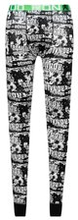 CR7 Underwear Long Johns - Musta/Valkoinen/Vihreä