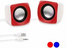 Mini-højtalere 3W 144083 - Blå