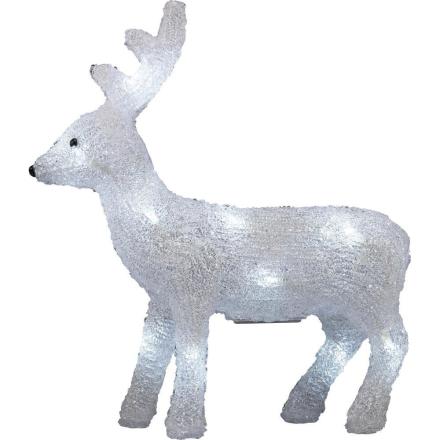 Akryl-figur Inomhus Polarlite Ren Kallvit Vit