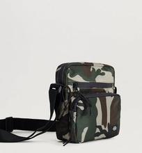 Dickies Axelremsväska Gilmer Camouflage Grön